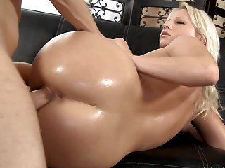 Teen Kimmy Olsen is out of control with Scott Lyonss throbbing rod in her mouth