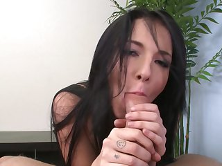 Will Powers wants to bang shameless Ashli Orion's hot mouth forever