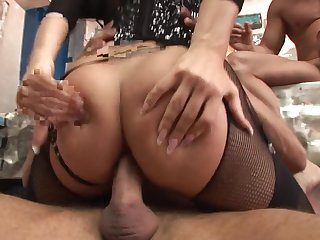 Helena Sweet with juicy melons can't resist the temptation to take guy's stiff pole in her vagina