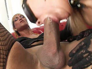 Milf honey can't stop sucking in insane oral action with hot dude