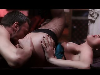 Pascal White is one hard-dicked dude who loves oral sex with Brunette Megan Foxxx
