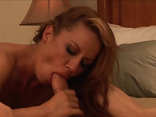 Joey Brass uses his rock hard man meat to bring blowjob addict Brunette Inari Vachs to the height of pleasure