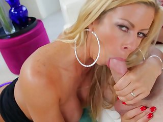 Blonde Alexis Fawx screams from endless orgasms after getting stuffed hard and deep hard and deep by horny guy