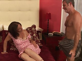 Brunette Melissa Monet is skilled enough to make dude cum again and again