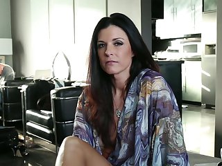 Redhead India Summer is wet as the ocean in this hardcore action with John Strong