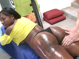 Big black booty workout with Gogo Fukme