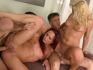 Group anal sex with Coral and Terry
