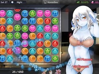 GAME - HuniePop Celeste bedroom stage