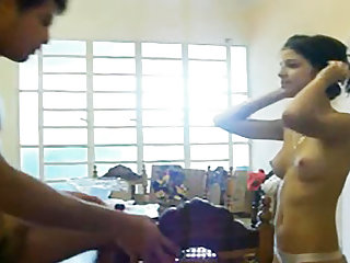 Amateur Desi Teen Gets Pounded On The Table
