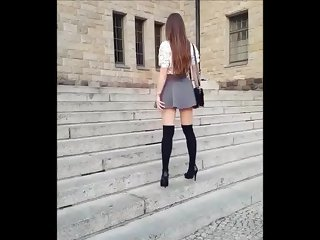 Pantyhose Video One Tube